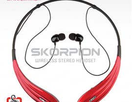 #27 untuk Create Print and Packaging Designs for Skorpion Bluetooth Headset oleh avtoringUK