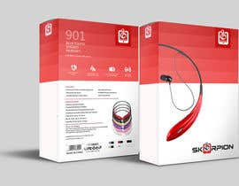 #8 for Create Print and Packaging Designs for Skorpion Bluetooth Headset af primadanny
