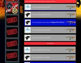 #5 untuk Design a Website Mockup for CSGOCasino.net oleh jituchoudhary