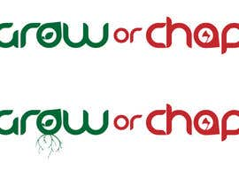 "kimuss tarafından Design a Logo for ""Grow Or Chop"" with Grow and Chop buttons. için no 53"