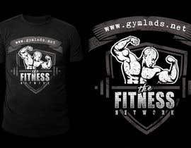 #19 for Design a T-Shirt for A Bodybuilding community website af stevesartorio13