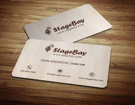 #15 untuk Design business cards for Stagebay oleh anikush