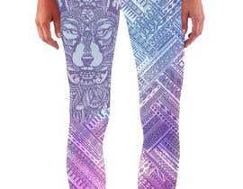 #38 untuk Create a Wolf design for a legging company oleh Christina850