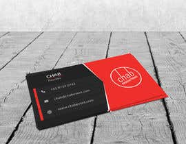#10 untuk Design some AWESOME Business Cards for Chab Pte Ltd oleh PixelDexigner