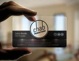 einsanimation tarafından Design some AWESOME Business Cards for Chab Pte Ltd için no 37