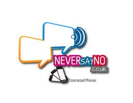 #103 untuk Design a Logo for NeverSayNo.co.uk a Mobile Phone Contract/Airtime website oleh creaturethehero