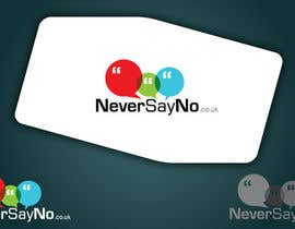 #61 untuk Design a Logo for NeverSayNo.co.uk a Mobile Phone Contract/Airtime website oleh jass191