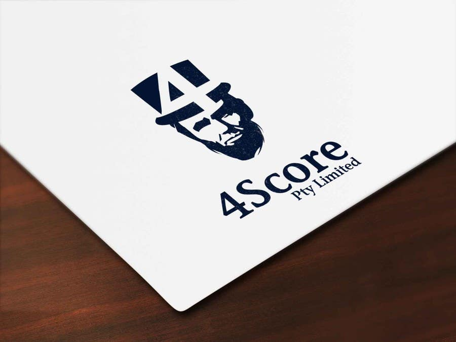 Penyertaan Peraduan #33 untuk Design a logo for 4Score