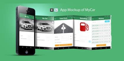 Nro 25 kilpailuun Design an App Mockup for Mobile App käyttäjältä okakzai