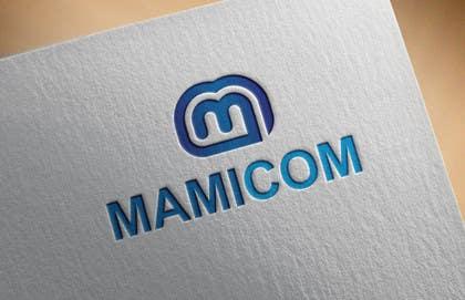 Nro 112 kilpailuun MAMICOM Company logo design käyttäjältä alyymomin