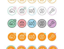#59 cho Design 5 icons, if you win = 40 more, paid fair!! bởi crosailes
