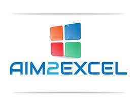 #45 for Design a Logo for Aim2Excel af georgeecstazy