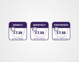 #42 for Design some Icons for Weekly, Fortnightly, Monthly icons for subscription box website by new1ABHIK1