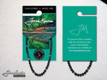 #10 for Create Packaging Designs for handmade lava jewelery af chubbycreations