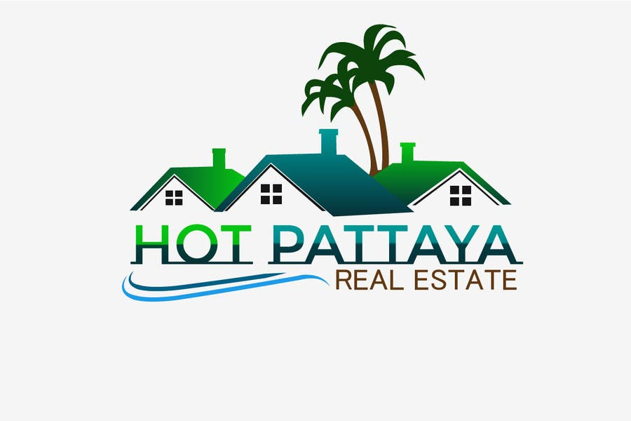Proposition n°89 du concours Design a Logo for REAL ESTATE company named: HOTPATTAYA