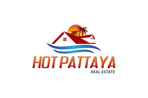 Proposition n°109 du concours Design a Logo for REAL ESTATE company named: HOTPATTAYA
