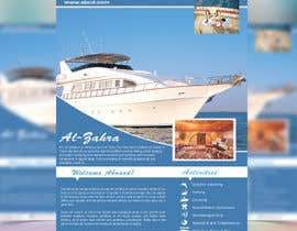 #65 for Design a Flyer for luxury yacht charter af stylishwork
