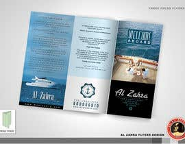 #47 for Design a Flyer for luxury yacht charter af KilaiRivera