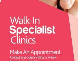Oigojeff tarafından Design a Banner Roll Up for a Walk-in, appointment free specialist clinics at a hospital için no 16