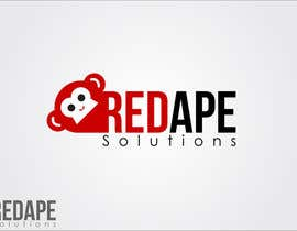 taganherbord tarafından Design a Logo + Business Card for Red Ape Solutions! için no 196