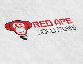 nº 73 pour Design a Logo + Business Card for Red Ape Solutions! par ChocobarArce