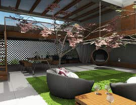 #38 for Open terrace design by vlangaricas