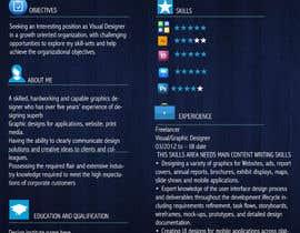 #2 for Resume and Cover letter af amdisenador