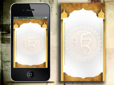 Graphic Design Contest Entry #5 for Iphone / Android bg images