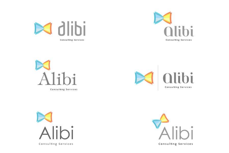 "Bài tham dự cuộc thi #                                        150                                      cho                                         Design a Logo for ""Alibi Consulting Services"""