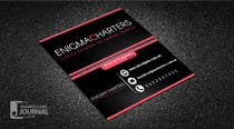Design some Business Cards for Enigma Charters için Graphic Design15 No.lu Yarışma Girdisi