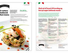 nº 8 pour Take away menu for italian restaurant par Habitus