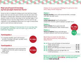 #18 untuk Take away menu for italian restaurant oleh DGSandra