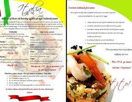 #22 untuk Take away menu for italian restaurant oleh penanpaper