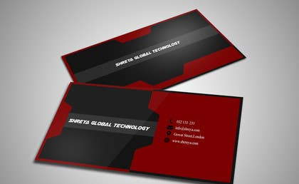 #19 untuk Design some Business Cards for Shreya Global Technologies oleh mekanic20