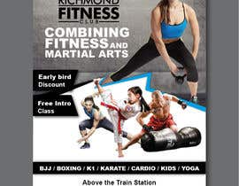 #52 for Design a Flyer for New Martial Arts Gym af chirangasandeepa