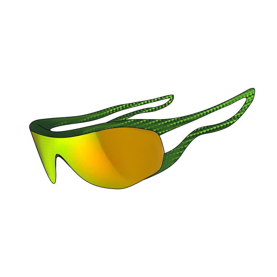 Konkurrenceindlæg #23 for Design some modern,very lightweight sports sunglasses (cycling, triathlon, running)