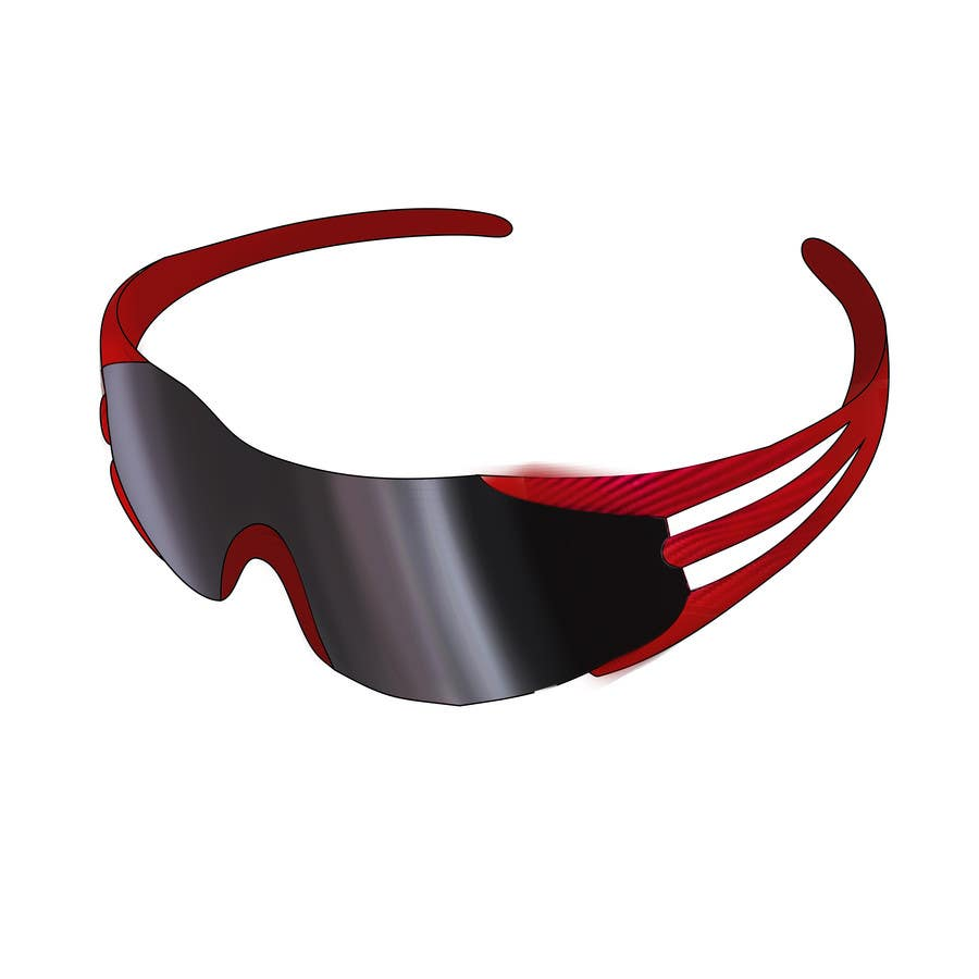 Konkurrenceindlæg #25 for Design some modern,very lightweight sports sunglasses (cycling, triathlon, running)