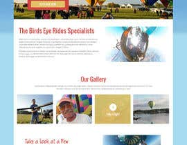 #10 cho Hot Air Balloon ride business Web Site Mockup bởi syrwebdevelopmen