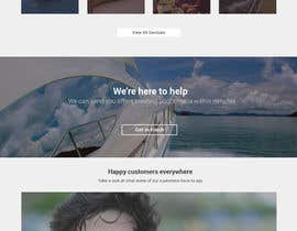 #7 for Design a UX/UI Mockup for Yacht Charter Comparison Site by joshuacorby2014