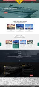 #22 untuk Design a UX/UI Mockup for Yacht Charter Comparison Site oleh ankisethiya