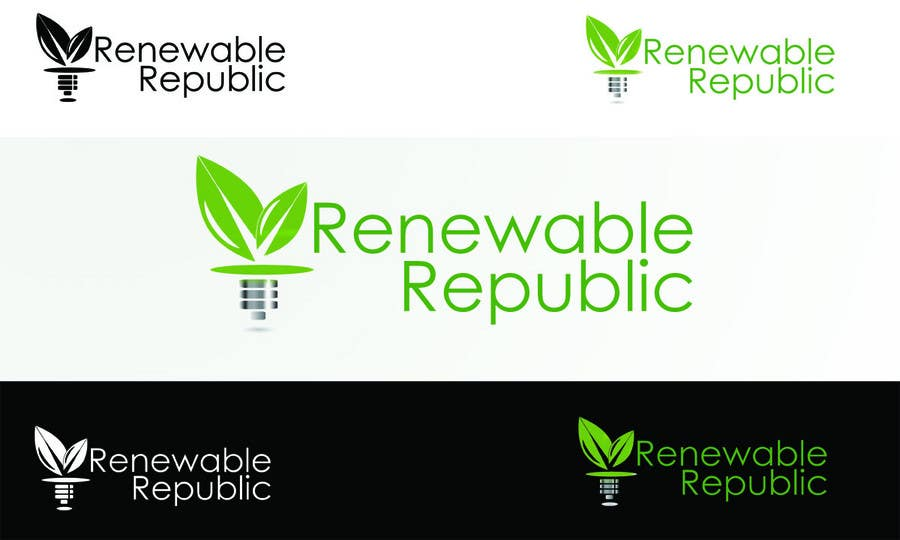 Participación en el concurso Nro.56 para Logo Design for The Renewable Republic