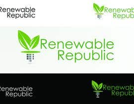 nº 56 pour Logo Design for The Renewable Republic par bikker