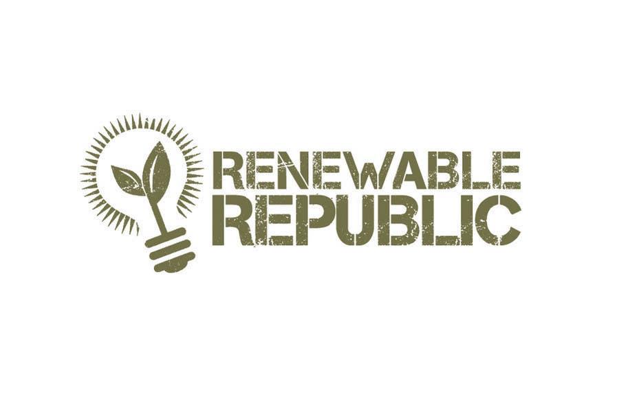 Konkurrenceindlæg #73 for Logo Design for The Renewable Republic