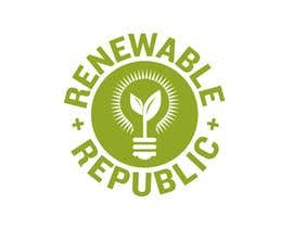 #52 para Logo Design for The Renewable Republic de jonWilliams74