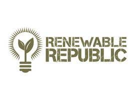 #70 para Logo Design for The Renewable Republic de jonWilliams74