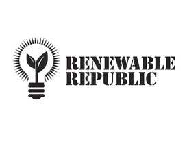 #66 para Logo Design for The Renewable Republic de jonWilliams74