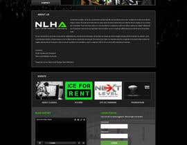 #13 cho Design a Website Mockup for NextLevelHockey bởi negibheji