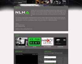 #14 for Design a Website Mockup for NextLevelHockey af negibheji