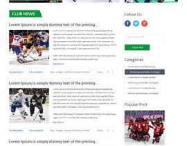 #30 for Design a Website Mockup for NextLevelHockey af hoang8xpts