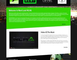 #20 cho Design a Website Mockup for NextLevelHockey bởi kethketh